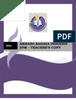 Ppwbp Spm Module 2012 - Teacher's Copy