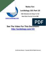 Lucidology 101