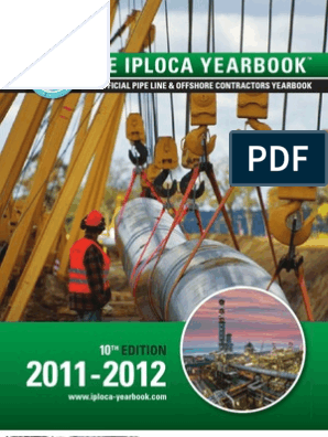 Iploca_2011 | Pipeline Transport | Pipe (Fluid Conveyance)