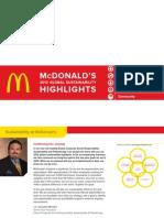 2012 Sustainability Highlights
