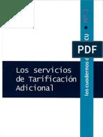 Nº 3 Los servicios de tarificación Adicional