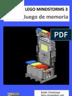 Juego de Memoria Con Lego Mindstorms