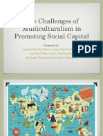 Challenges of Multiculturalism in Promoting Social Capital