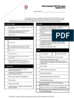 Prestasi Application Form 2013