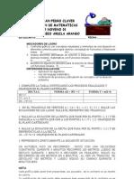 EVALUACIÓN LINEA RECTA 01