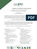 Dimensões Humanas da Gestão de Vida Silvestre - Curso de Extensão ESALQ/USP