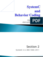 SystemC n BehaviorCoding Section2