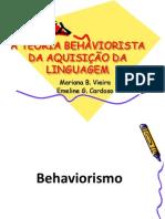 Behaviorismo - Mariana e Emili