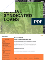 Bloomberg Global Syndicated Loan Q2 2012