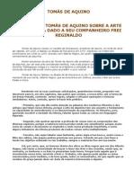 TOMÁS DE AQUINO - tratado de Alquimia