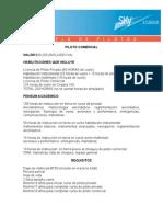Info Piloto Comercial