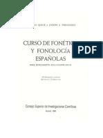 Curso de fonética y fonología españolas Quilis