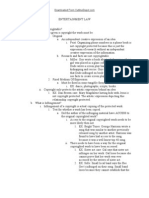 Ent. Law Outline