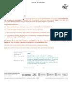 SOFIA Plus - Inscripción exitosa