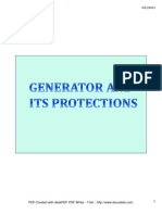 Generator Protections