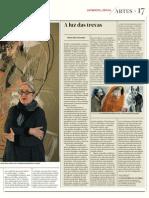 Graça Morais Jornal de Letras 2