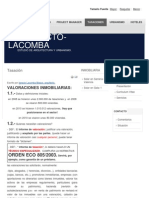 Tasación - arquitecto-lacomba