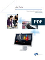 Fiery ColorProfilerSuite v3 Brochure US