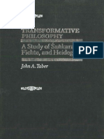 Transformative Philosophy a Study of Sankara Fichte and Heidegger