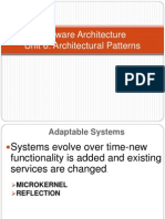 Unit 6 Arch Patt Microkernel and Reflection