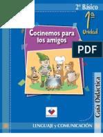 Guía Didáctica del profesor 2° Lenguaje y Comunicación