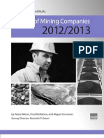 Fraser_Survey of Mining Compnaies 2012-2013