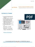 Portable PLC Trainer