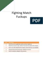 Fighting Fuckups AIESEC