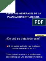 Planeación, Estratégica
