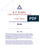 Dallas TenBroeck, W - BP Wadia a Life of Service to Mankind
