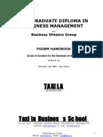 Handbook Pgdbm