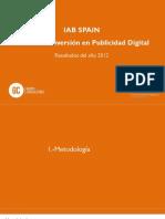 Informe Inversion Publicidad Total 2012