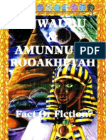 Nuwaubu & Amunnubi Rooakhptah - Fact or Fiction(Cut)
