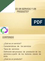 Qué es un servicio   y   un  producto[1]