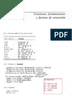 Constantes fundamentales y factores de conversión