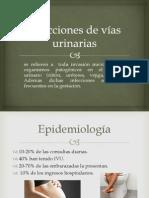 Infecciones de vías urinarias embarazada