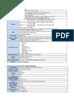 Samsung NX300 - Specificatii Tehnice