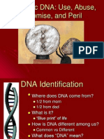 Forensic DNA Analyses