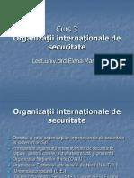 Curs 3- Organiza úii interna úionale de securitate