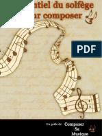 L'Essentiel du Solfège pour Composer