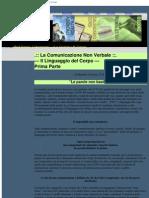 Articoli Pnl Cnv Comunicazione Non Verbale Il Linguaggio Del Corpo