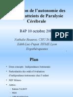 Autonomie Personala Paralizie Cerebrala