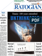 Titanic anniversary cover