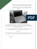 Tutorial para desmontar una portátil COMPAQ Presario V2000