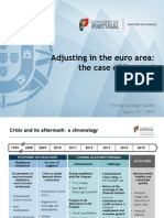 Adjusting in the euro area