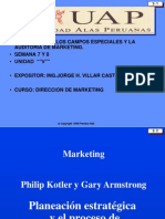 Auditoria Marketing - Semana 7 y 8