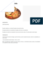 Bolivian Cuisine