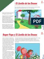 Cuento-Super Pepo y el jardín de los deseos