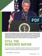 Still the Redeemer Nation - WQ Magazine
