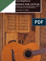 Bogdanovic Dusan_Counterpoint for Guitar